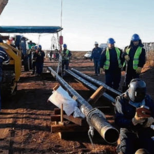 El gasoducto de la Región Sur está a un paso de inaugurar su primer tramo