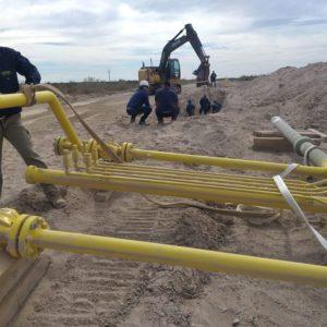 El Gasoducto de la #RegiónSur ya transporta gas natural.