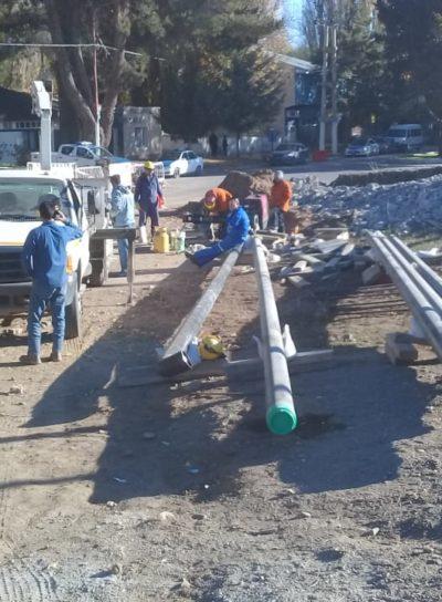CONSTRUCCIÓN GASODUCTO CRUCE ARROYO EL CALAFATE