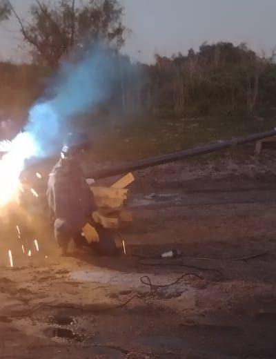 ACONDICIONAMIENTO GASODUCTO DE ALIMENTACIÓN A GUALEGUAY