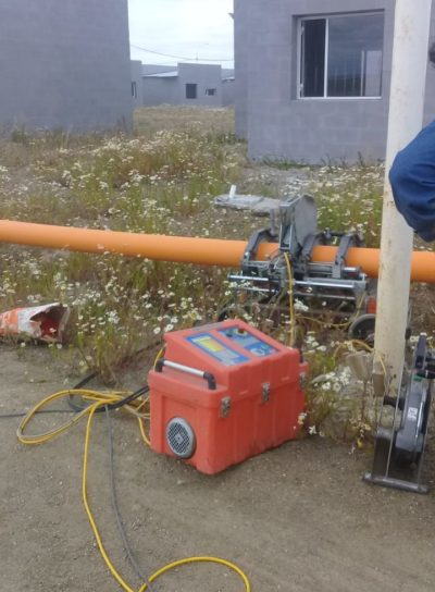 CONSTRUCCIÓN RED DE DISTRIBUCIÓN DE GAS NEXO PLAN DEVIVIENDAS TECHO DIGNO B° SANTA CRUZ