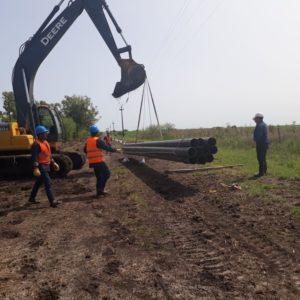 GASNEA inicia la última etapa de las obras del nuevo gasoducto a Villaguay.