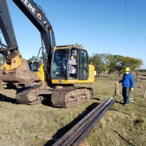 Gas NEA inició el reemplazo del tramo subacuático del gasoducto a Gualeguay.